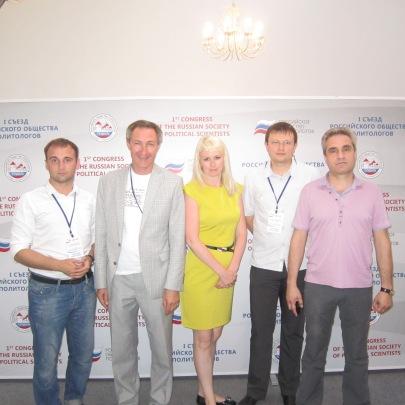 участники 1-го съезда РОП в Суздале: Андрей Бодров, Владимир Романов, Наталия Жуковская, Дмитрий Жуков, Дмитрий Сельцер