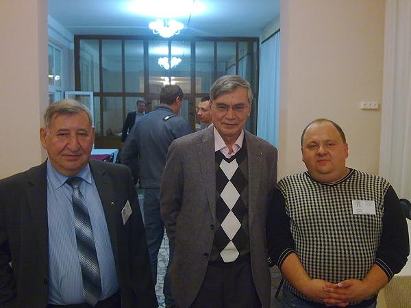 Звенигород, конференция АИК-2014, В.В. Канищев, Б.Н. Миронов, С.К. Лямин