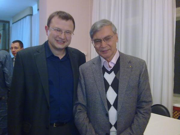 Звенигород, конференция АИК-2014, Д.С. Жуков, Б.Н. Миронов