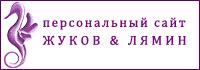 Персональный сайт Дмитрия Жукова и Сергея Лямина